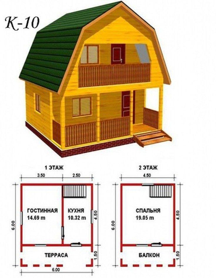 Красивые дачные дома: проекты и стили