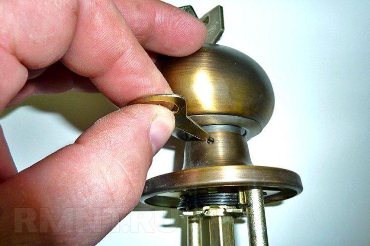 (+44 фото) Как разобрать дверную ручку