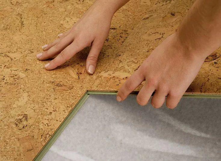 (+45 фото) Пробковое покрытие на пол