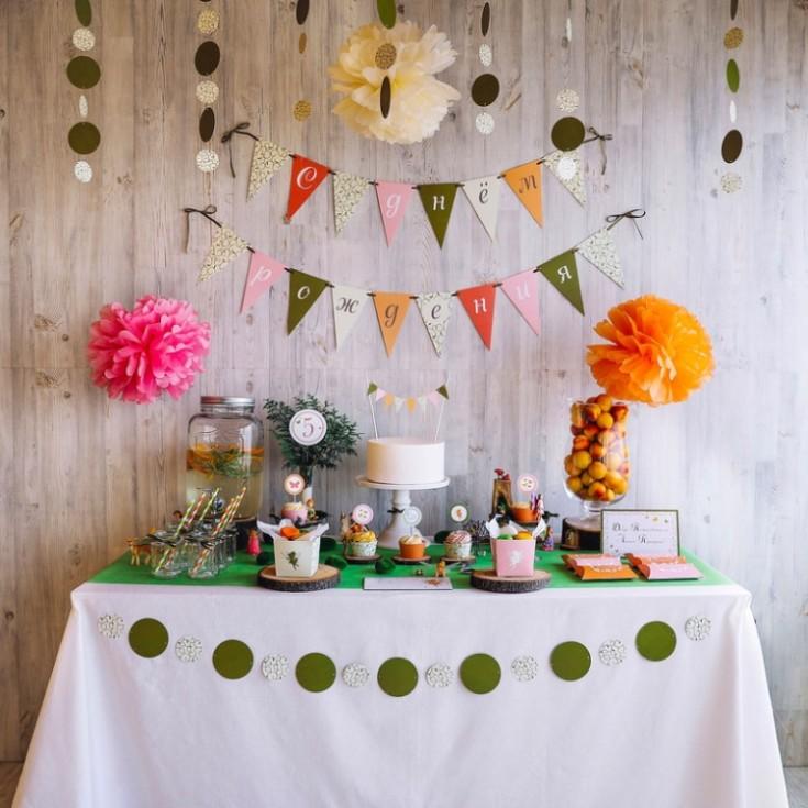 Как украсить комнату на день рождения ребёнка: 105 фото