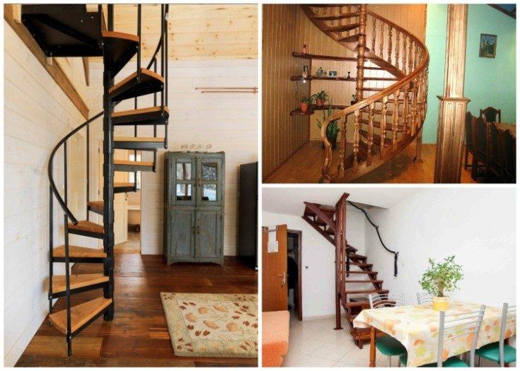 Лестница на мансарду в частном доме расположение и разновидности