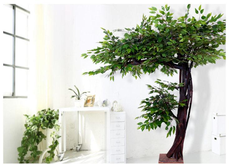 Искусственные деревья для интерьера