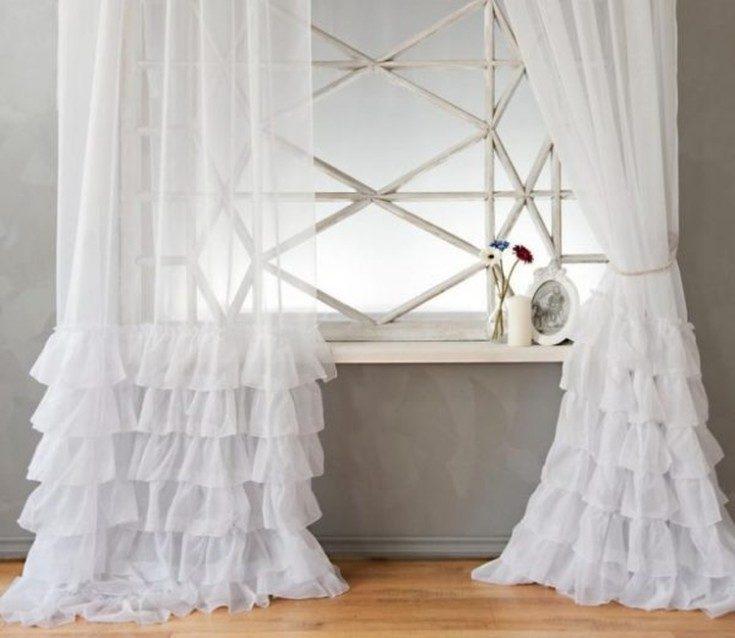 Тюль для зала: как выбрать