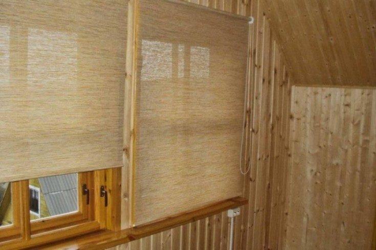 Рулонные шторы в интерьере плюсы и минусы
