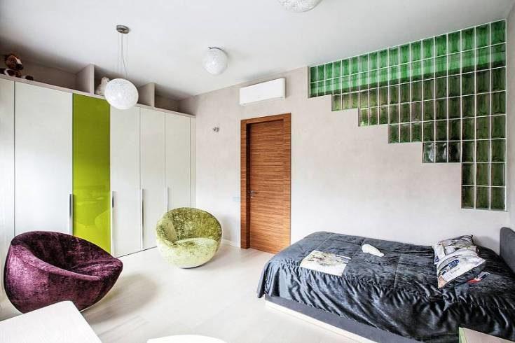 (+55 фото) Стеклоблоки в интерьере квартиры фото