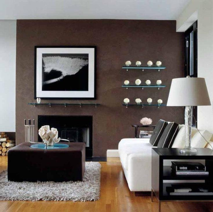 (+30 фото) Шоколадный цвет в интерьере
