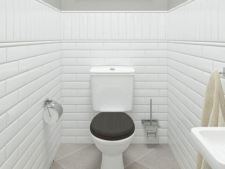 (+50 фото) Белая плитка в интерьере