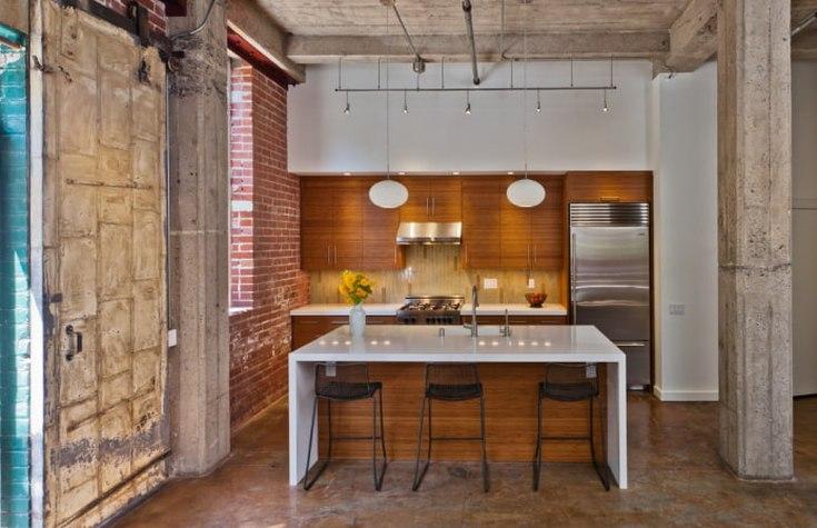 (+45 фото) Декоративный бетон в интерьере