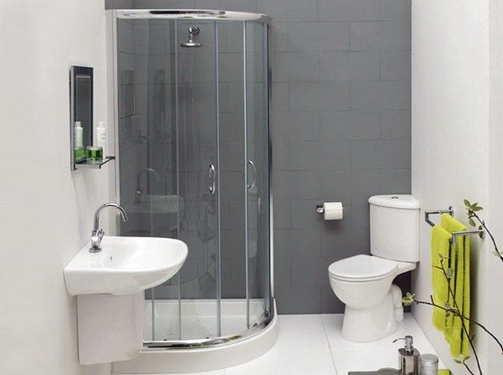 (+62 фото) Дизайн ванной комнаты с туалетом с душевой