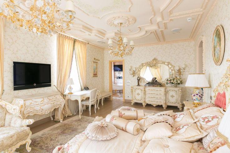 Стиль рококо в интерьере квартиры