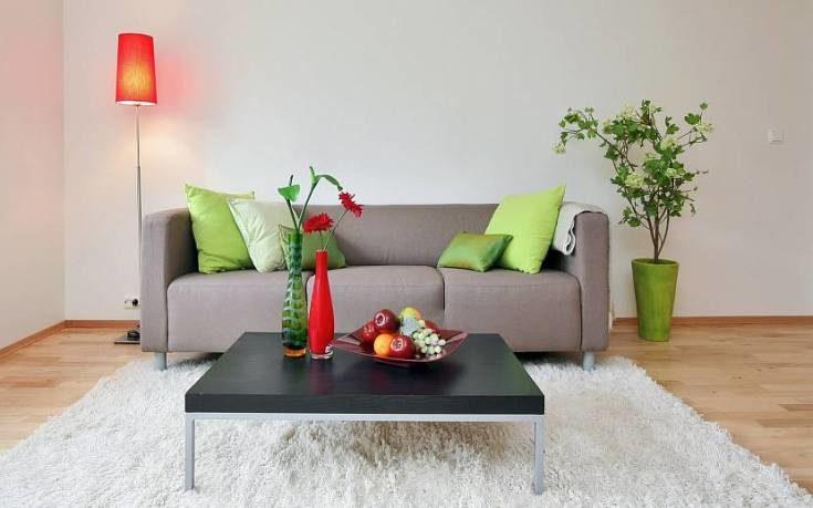 (+81 фото) Серый диван в интерьере