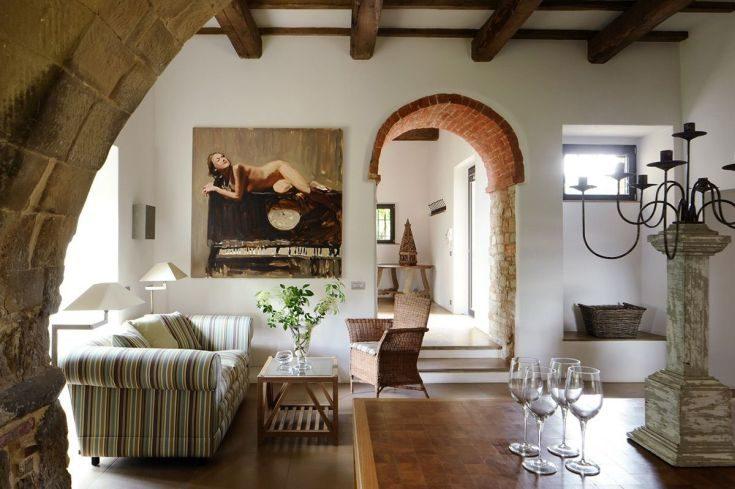 (+50 фото) Итальянский стиль в интерьере