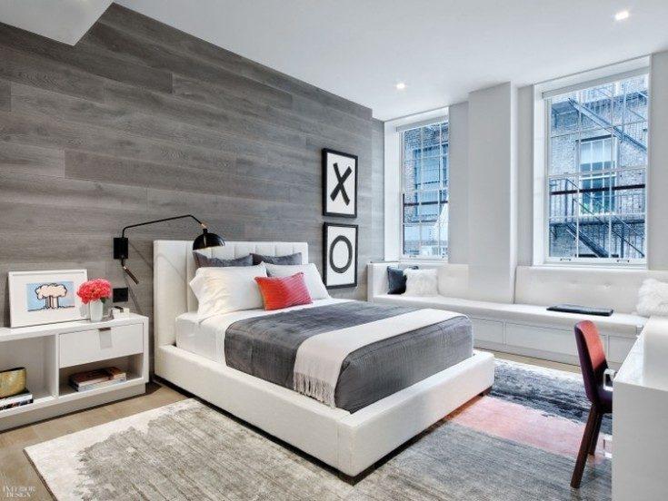 (+116 фото) Дизайн спальни: стили, выбор цвета и отделки 116 фото