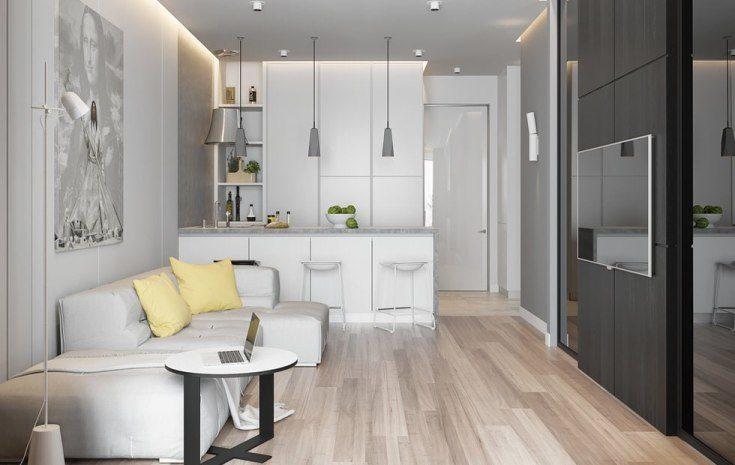 (+68 фото) Стиль минимализм в интерьере квартиры