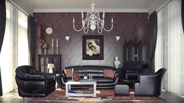 (+60 фото) Готический стиль в интерьере квартиры