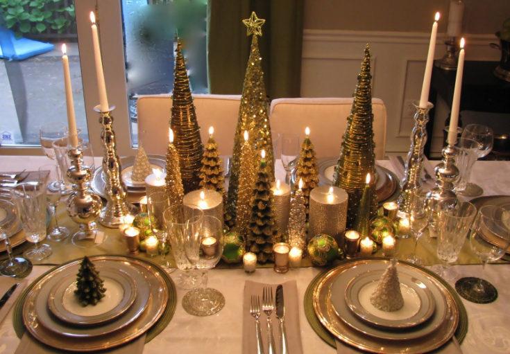 50 идей красивой современной сервировки праздничного стола: посуда, салфетки, декор + 100 ФОТО