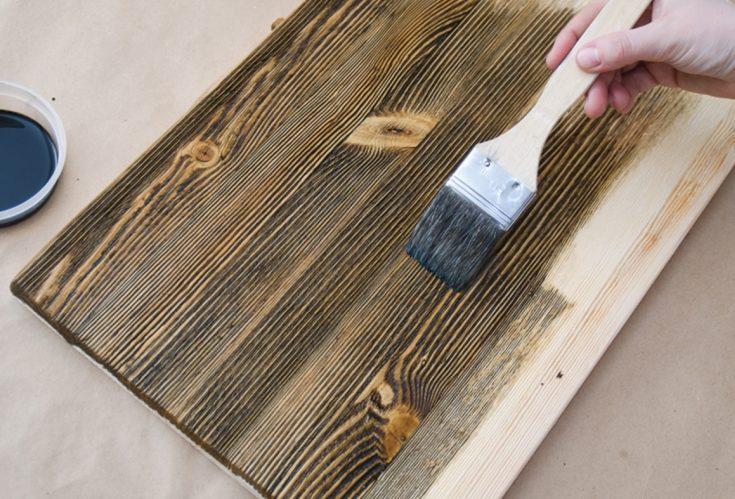 (+55 фото) Браширование древесины