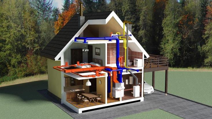 (+40 фото) Планировка дома две спальни кухня и гостиная