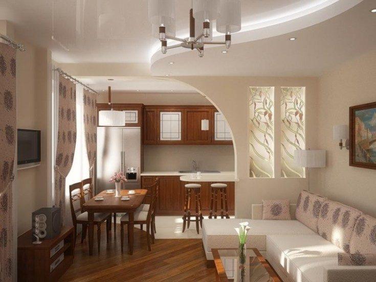 Оформление арки в современном интерьере квартиры и дома