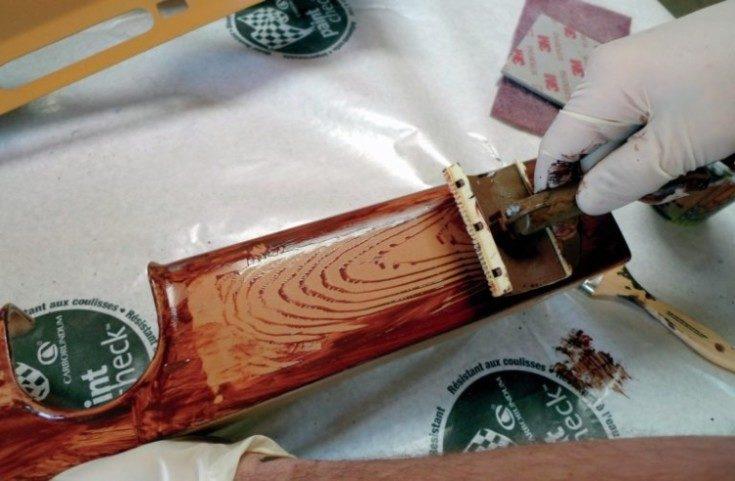 (+55 фото) Выбор краски под дерево и для деревянных поверхностей