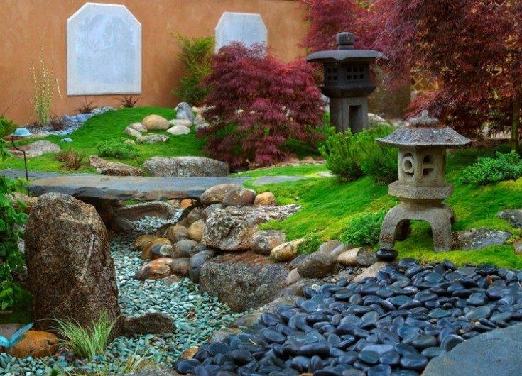 Дизайн двора частного дома 70 фото