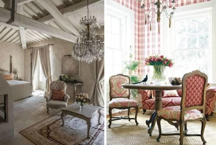 (+50 фото) Прованс французский стиль в интерьере квартиры