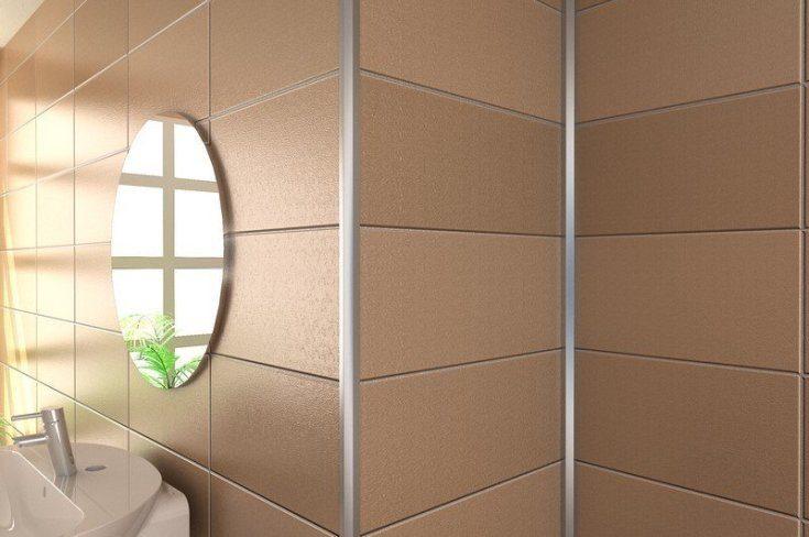 (+50 фото) Декоративные уголки на углы стен