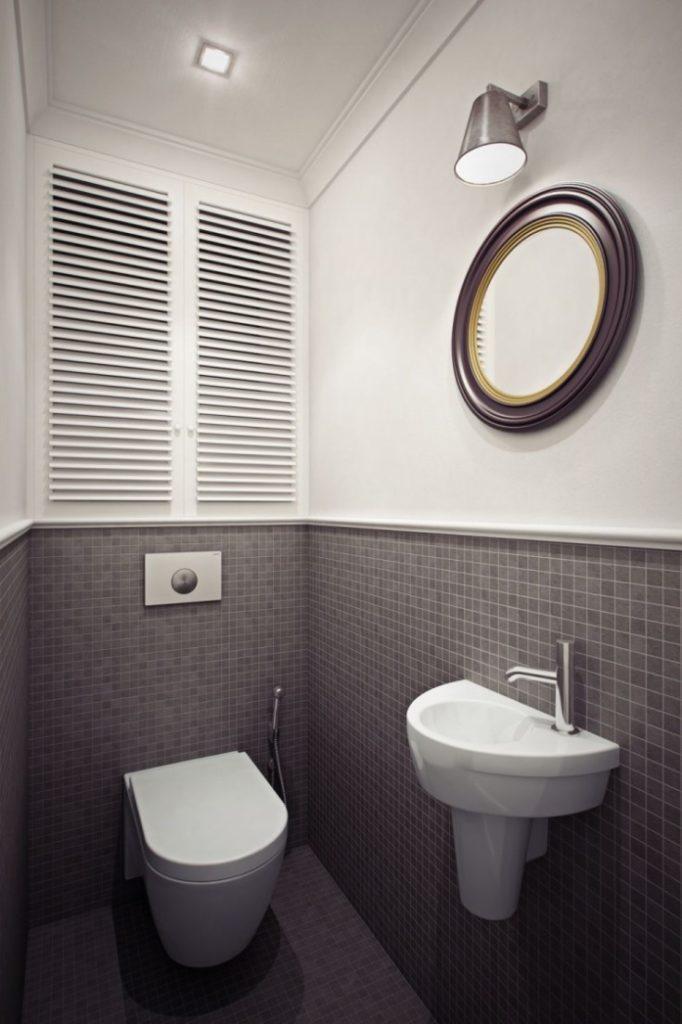 (+60 фото) Дизайн маленького туалета 60 фото современные идеи