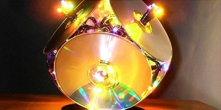 (+67 фото) Поделки из пластиковых дисков своими руками