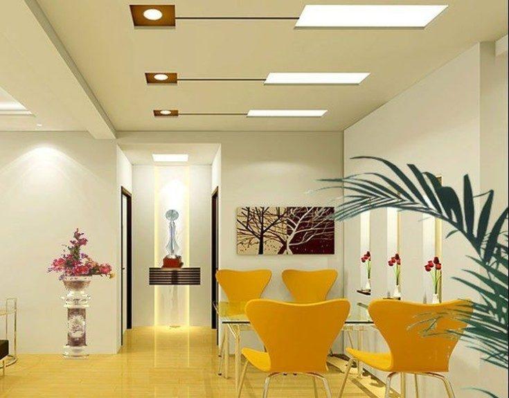 (+54 фото) Люстры для зала с низким потолком