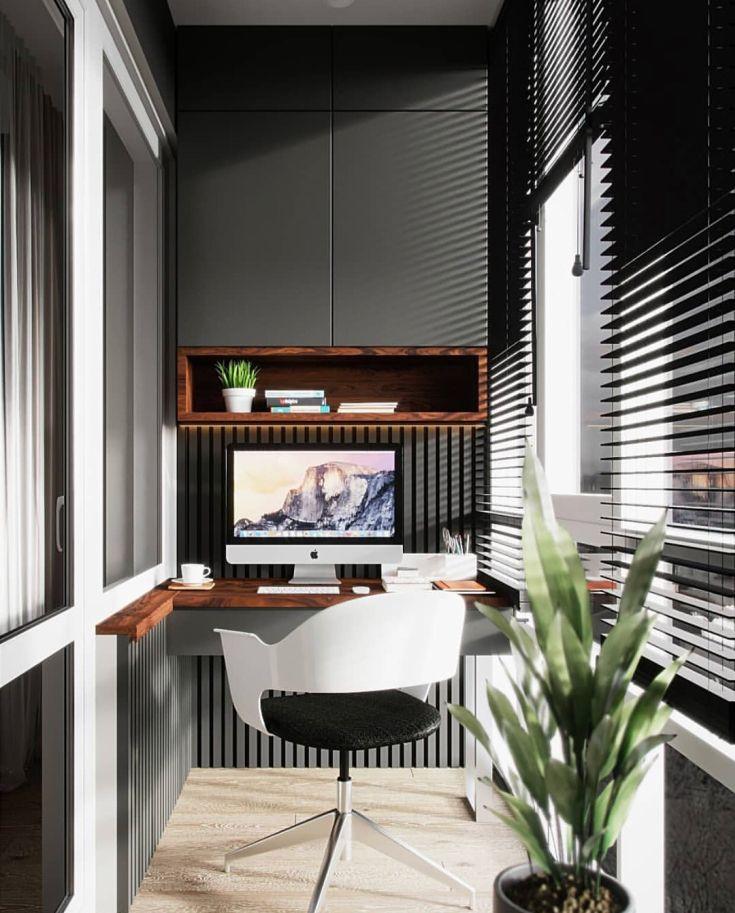 (+42 фото) Дизайн балкона в стиле хайтек