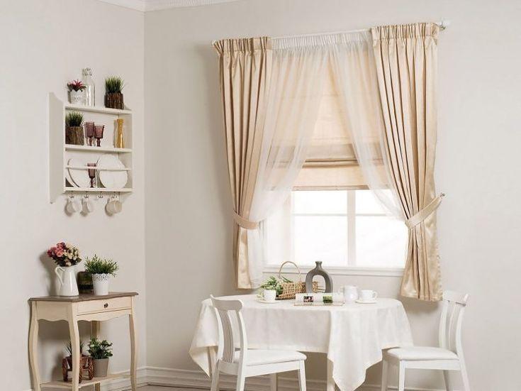 30+ фото Римские шторы в интерьере зала или гостинной
