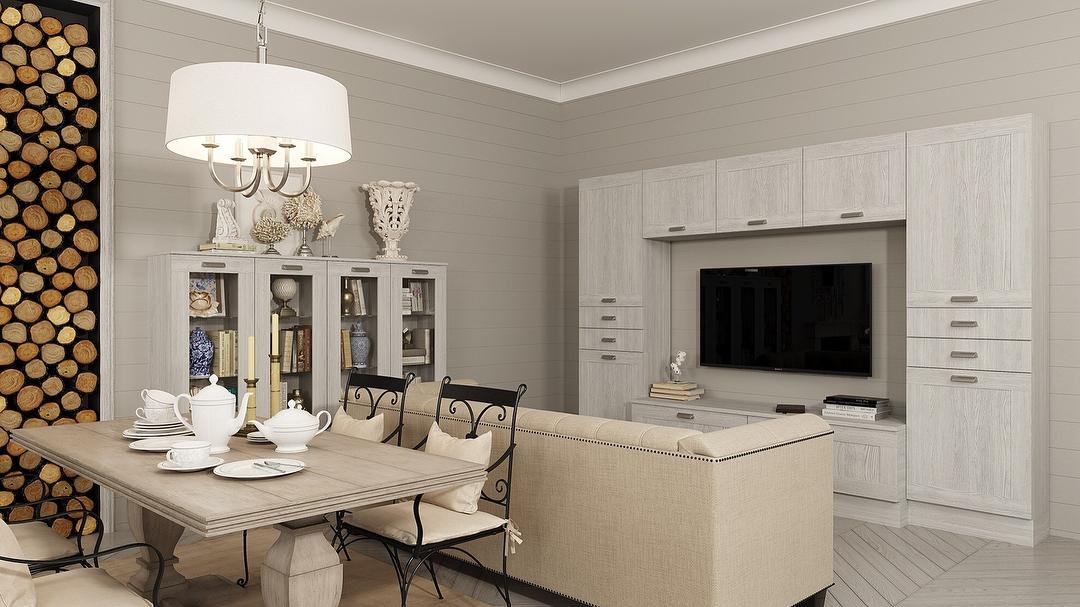 12 фото интерьер кухни совмещённой с прихожей