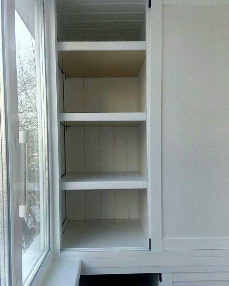 22 фото дизайн шкафчиков на балконе