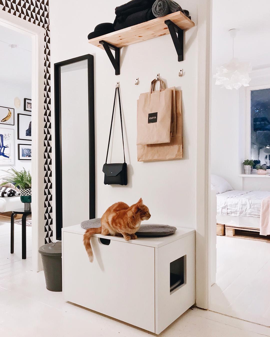 26 реальных фото мебель Икеа в интерьере прихожей