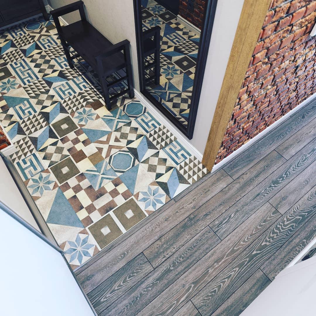 67 фото идеи дизайна напольной плитки в прихожую