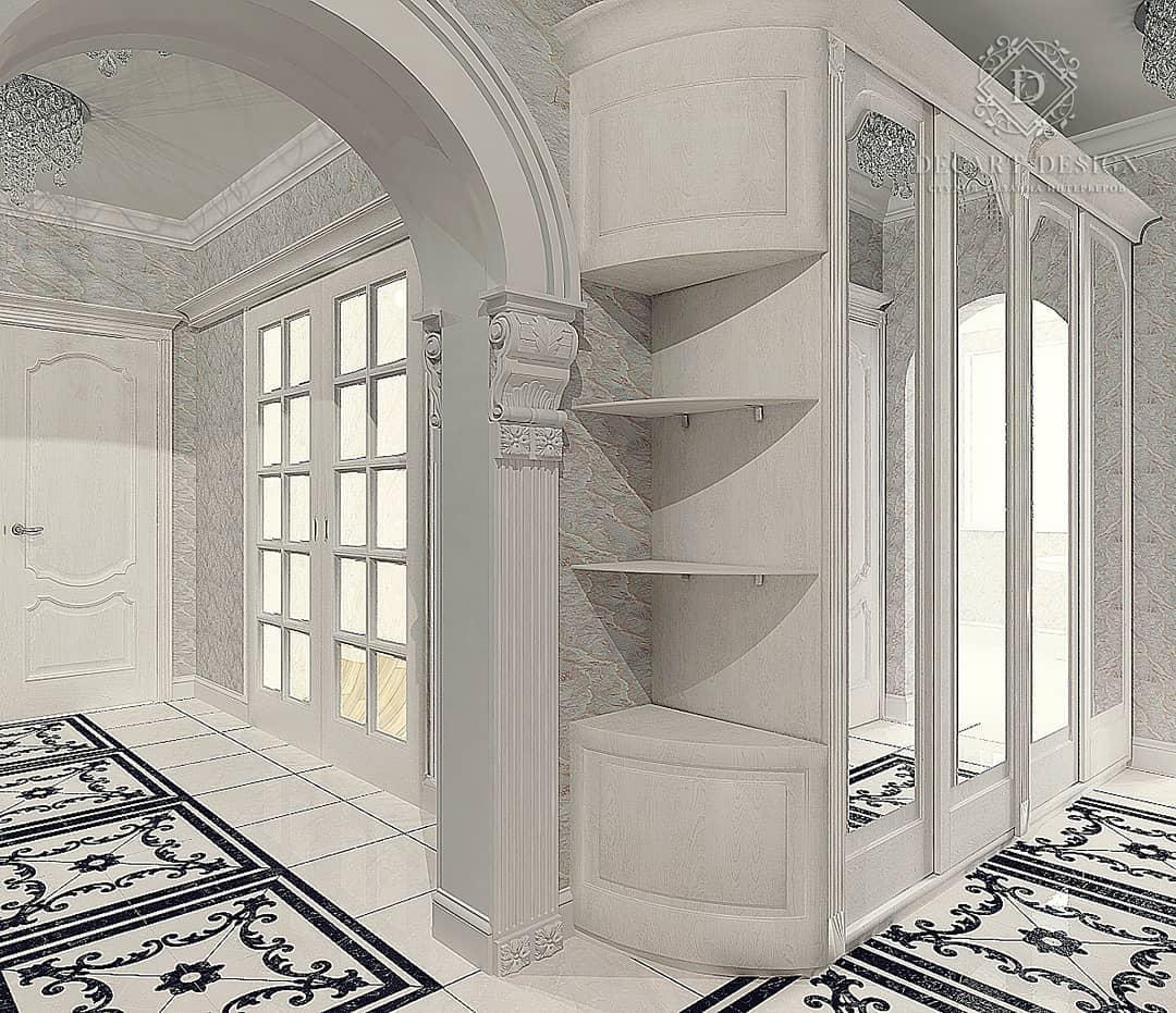 10 фото арки в интерьере прихожей