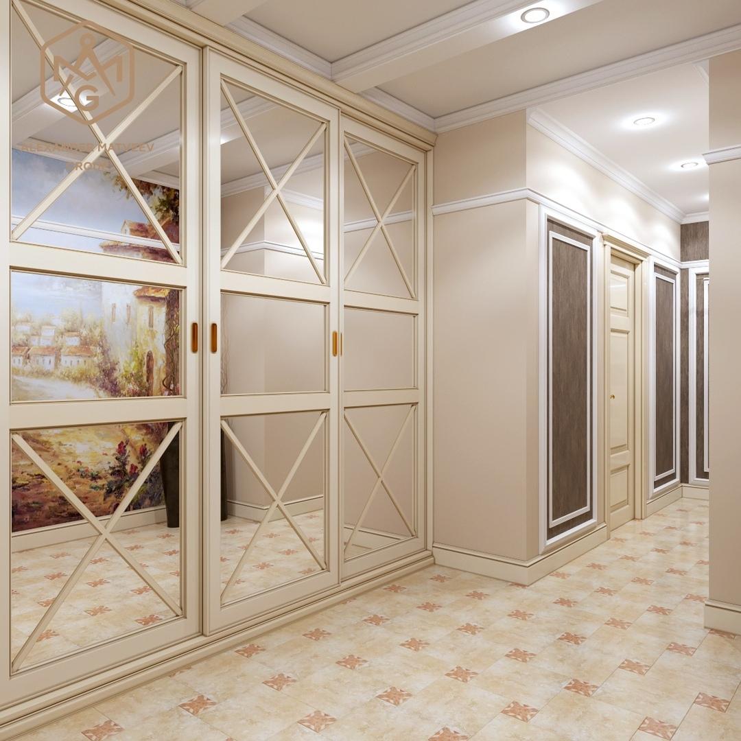 30 фото Молдинги на стенах в интерьере прихожей