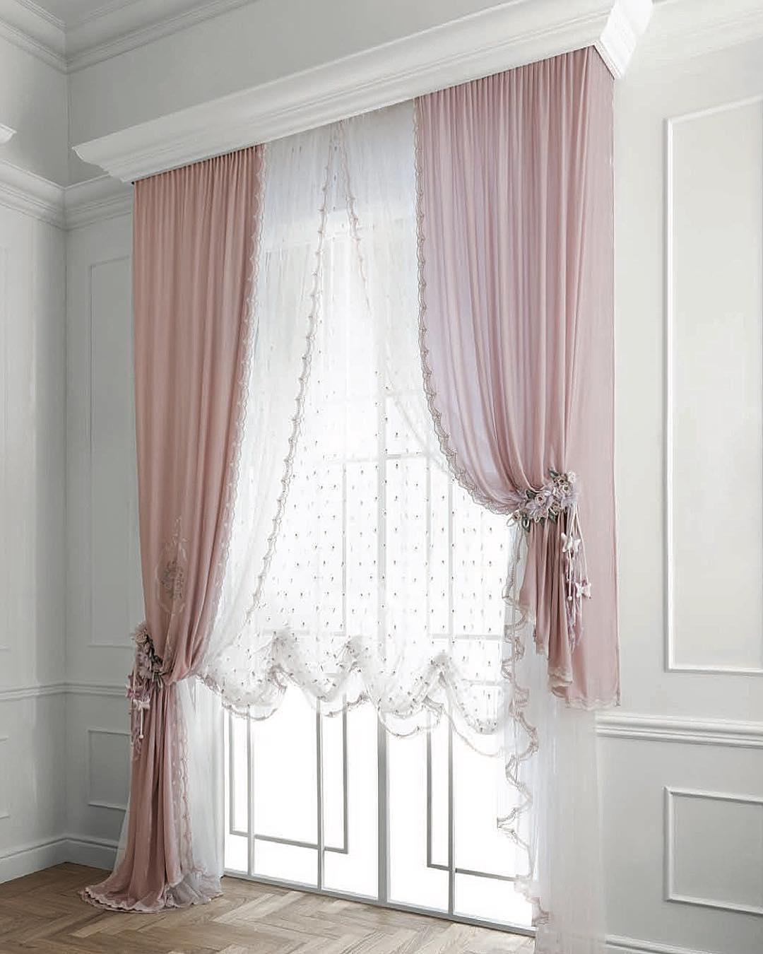 32 фото французкие шторы в интерьере