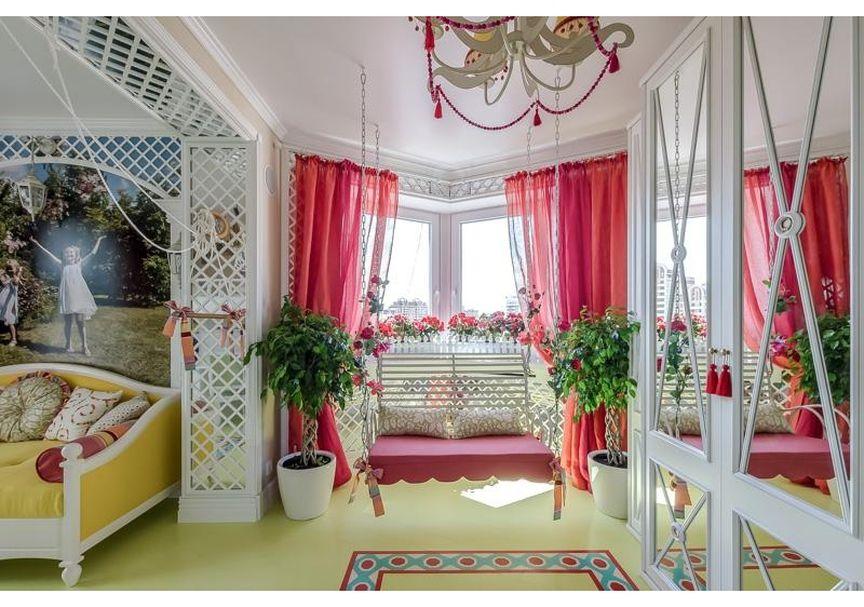 (+100 фото) Интерьер гостиной с эркером в частном доме