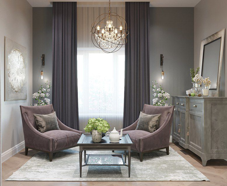 (+84 фото) Интерьер гостиной в стиле модерн