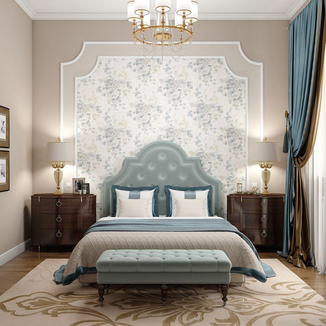 60 фото бирюзовый интерьер спальни