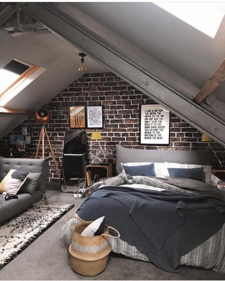 70 фото интерьер мужской спальни
