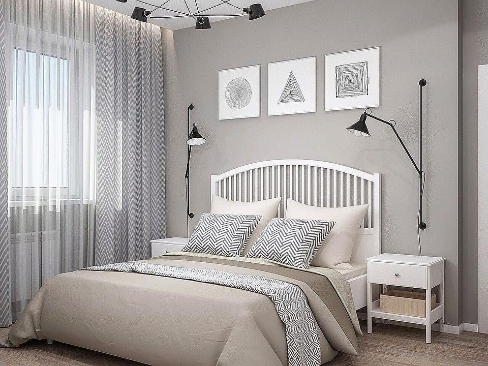 (+130 фото) Спальня икеа в интерьере