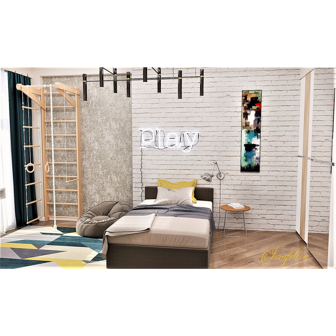 (+100 фото) Интерьер спальни для подростка