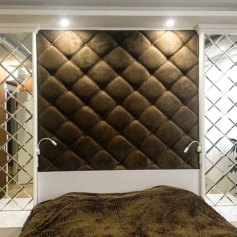 (+110 фото) Зеркало в интерьере спальни