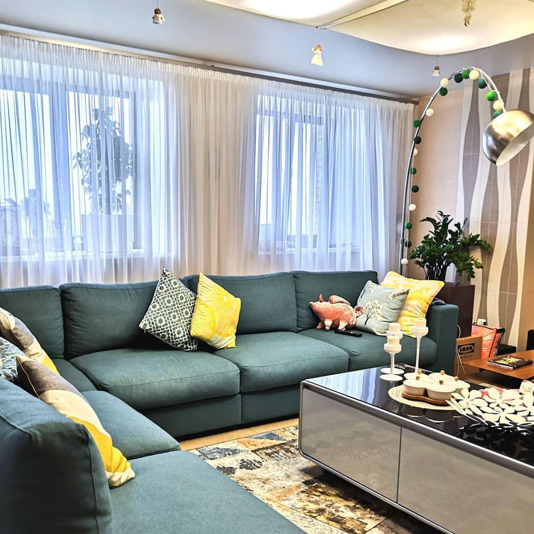 (+56 фото) Натяжные потолки в интерьере гостиной