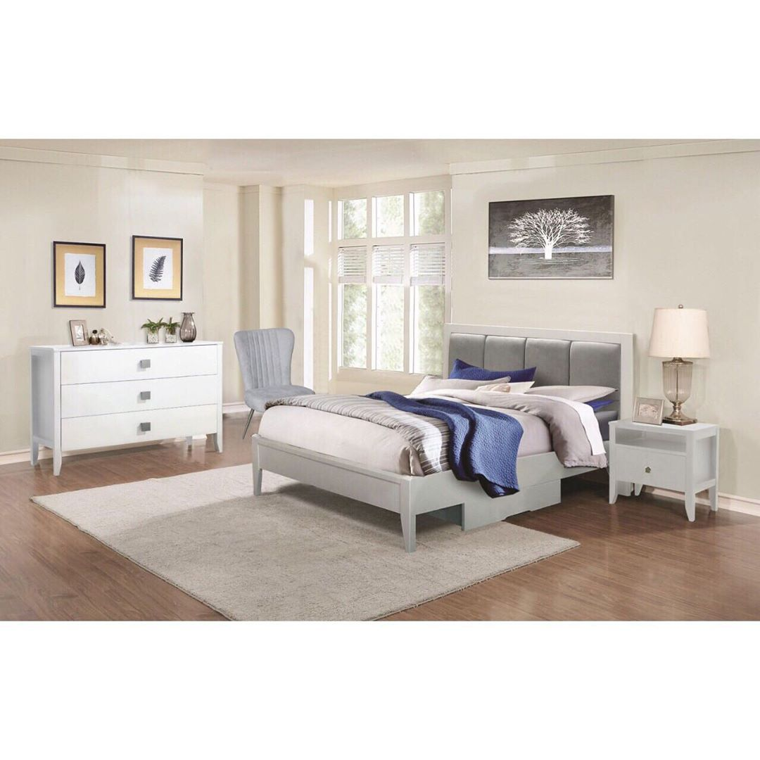 (+70 фото) Интерьер белой спальни