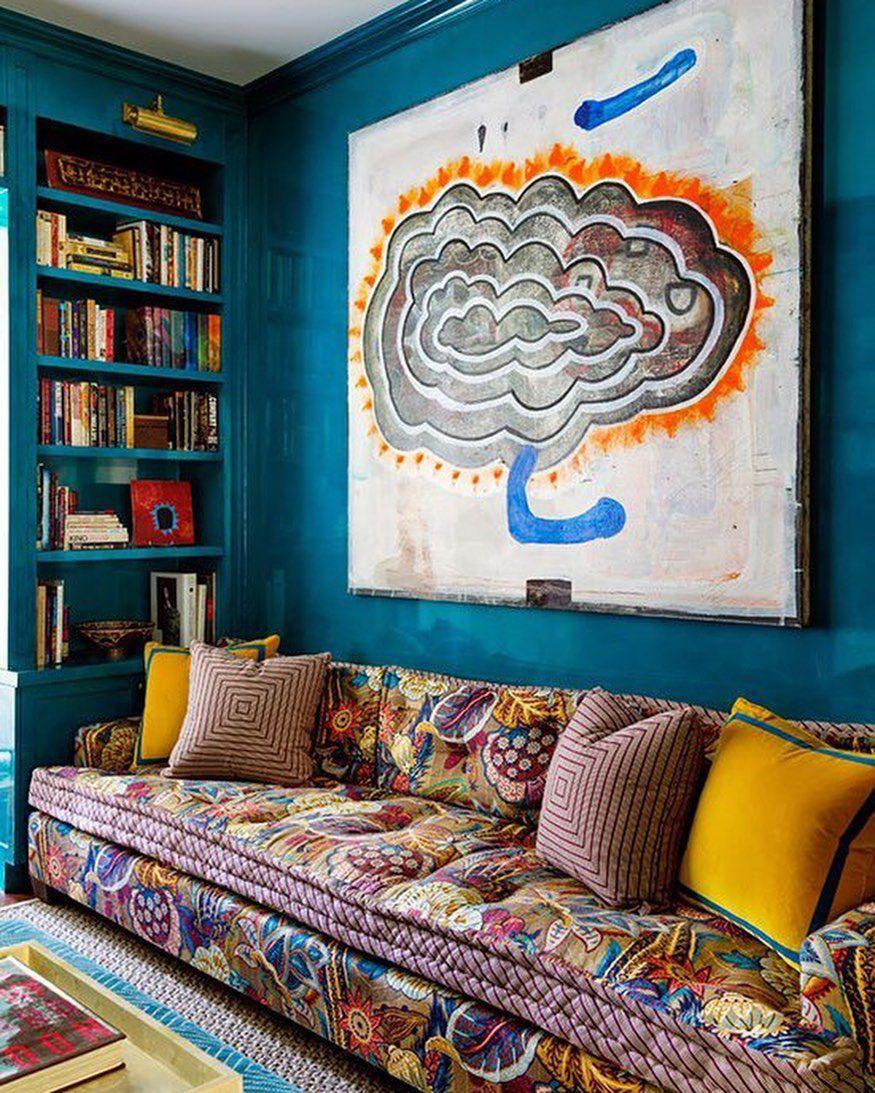 46 фото бирюзовый цвет в интерьере гостиной