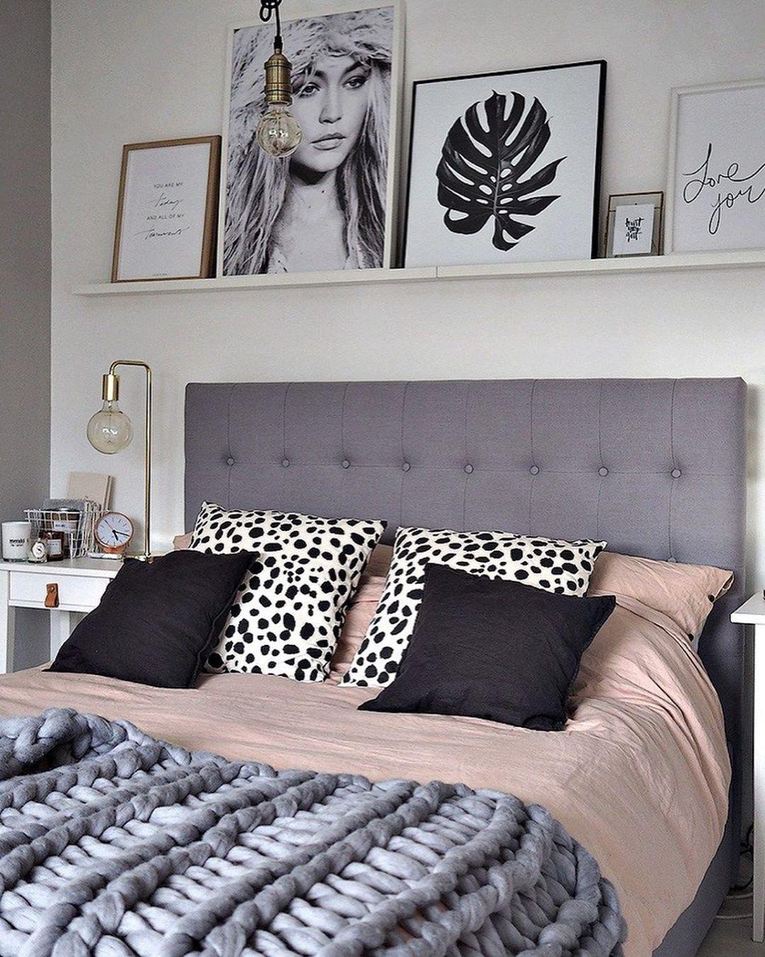 90 фото серый интерьер спальни